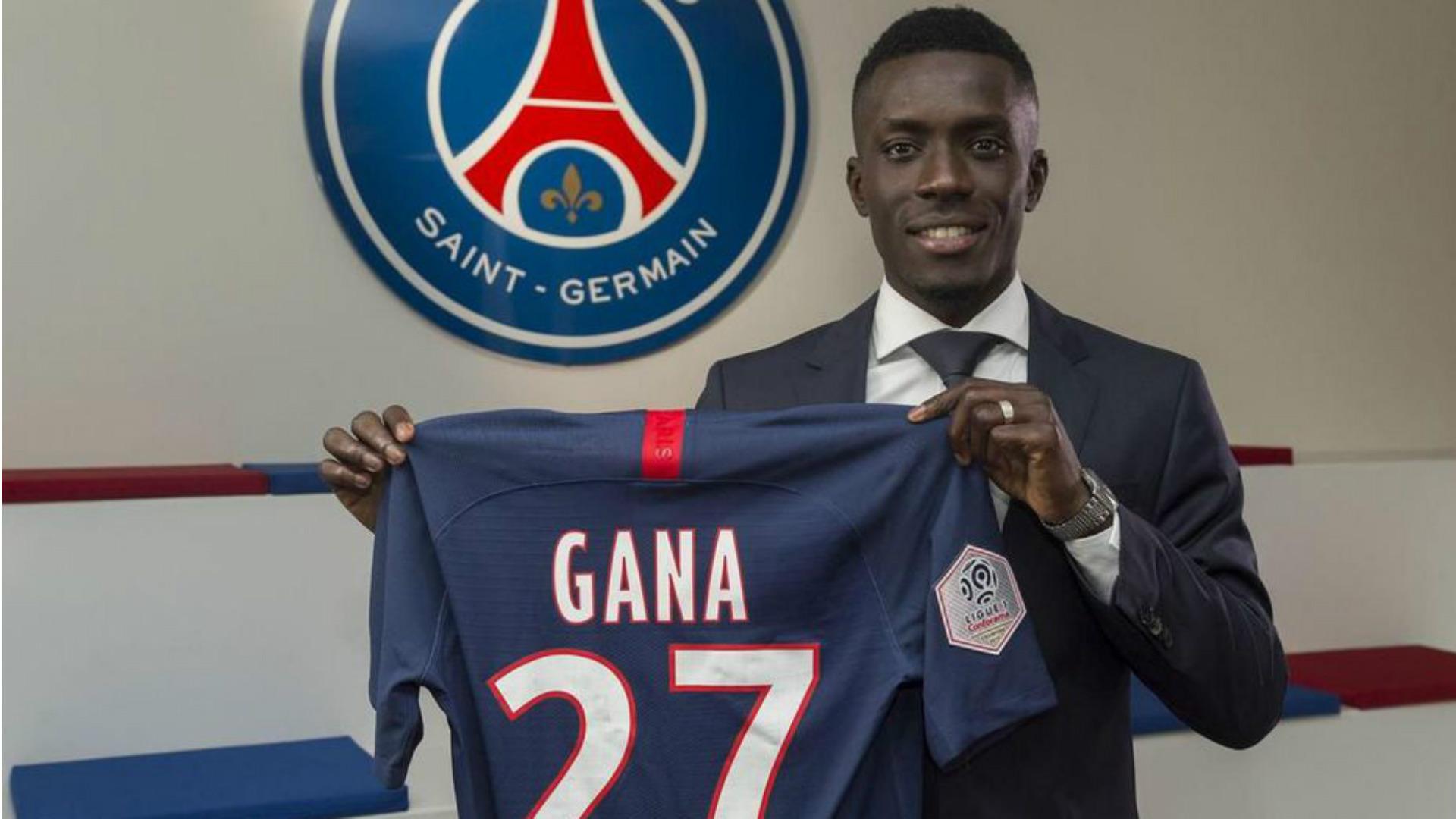 Idrissa Gueye a fait son premier entraînement avec le PSG