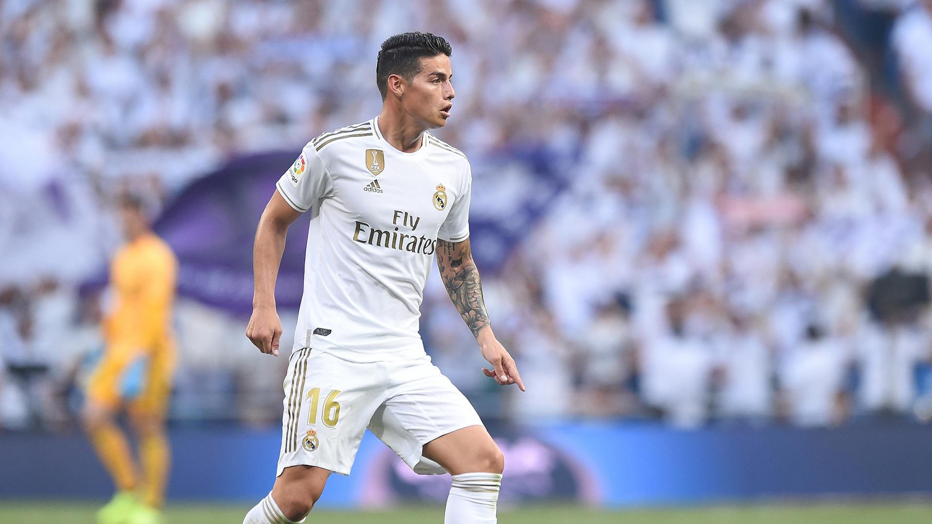 """James Rodriguez : """"J'espère faire ma meilleure saison au Real Madrid"""""""