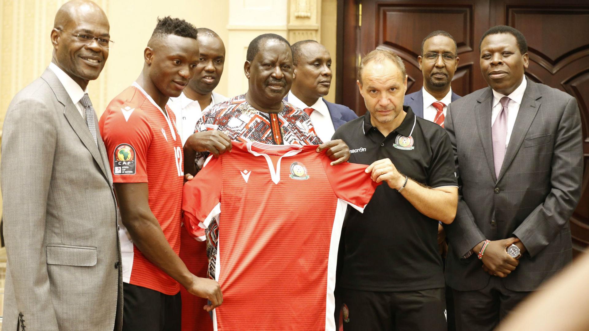 Afcon: Harambee Stars will do Kenyans proud in Egypt, says Raila Odinga