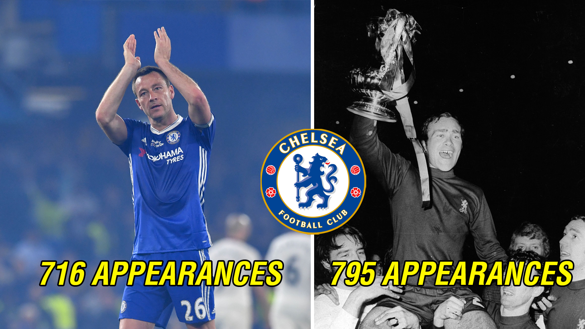John Terry Ron Chopper Harris