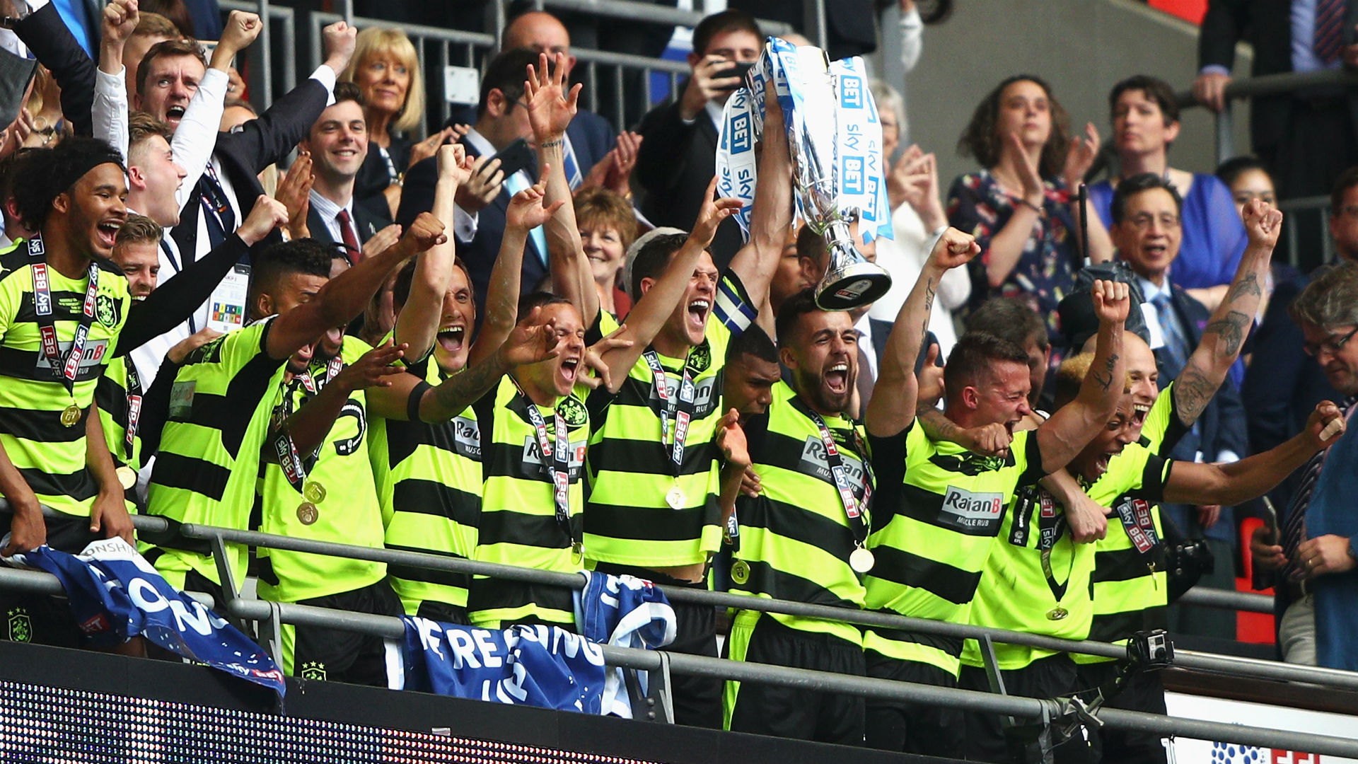 Reds Loanee Ward Backstops Huddersfield Town to Premier League Promotion