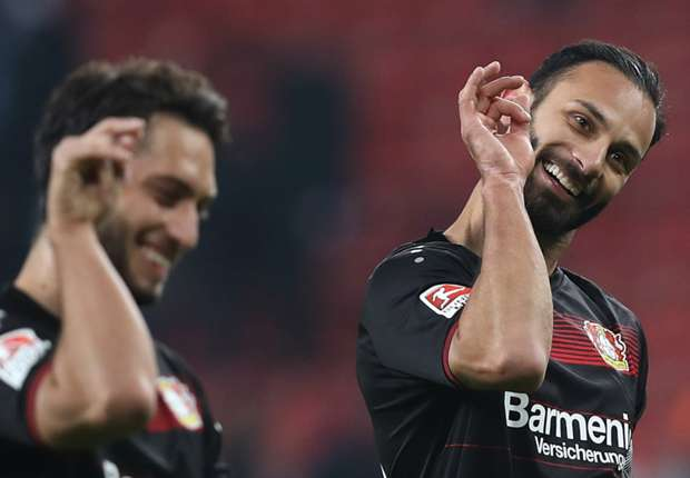 leverkusen duo s hilarious salt bae celebration   goal