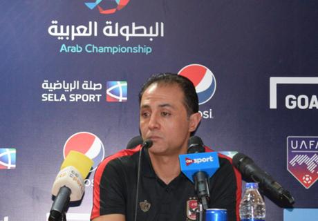 البطولة العربية | مدرب الأهلي: التوفيق حالفنا أمام الوحدة