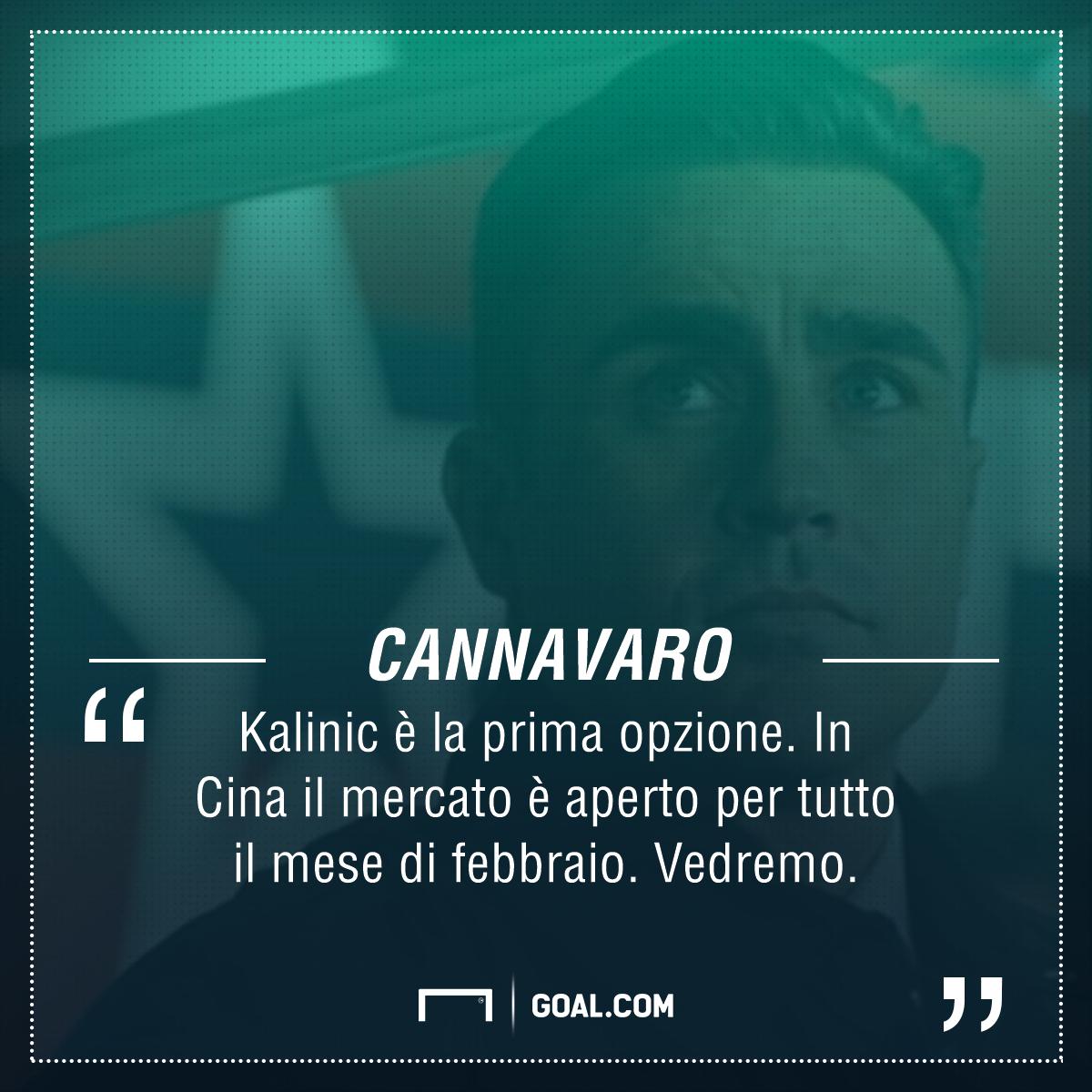 Attenta Fiorentina, Cannavaro non molla Kalinic