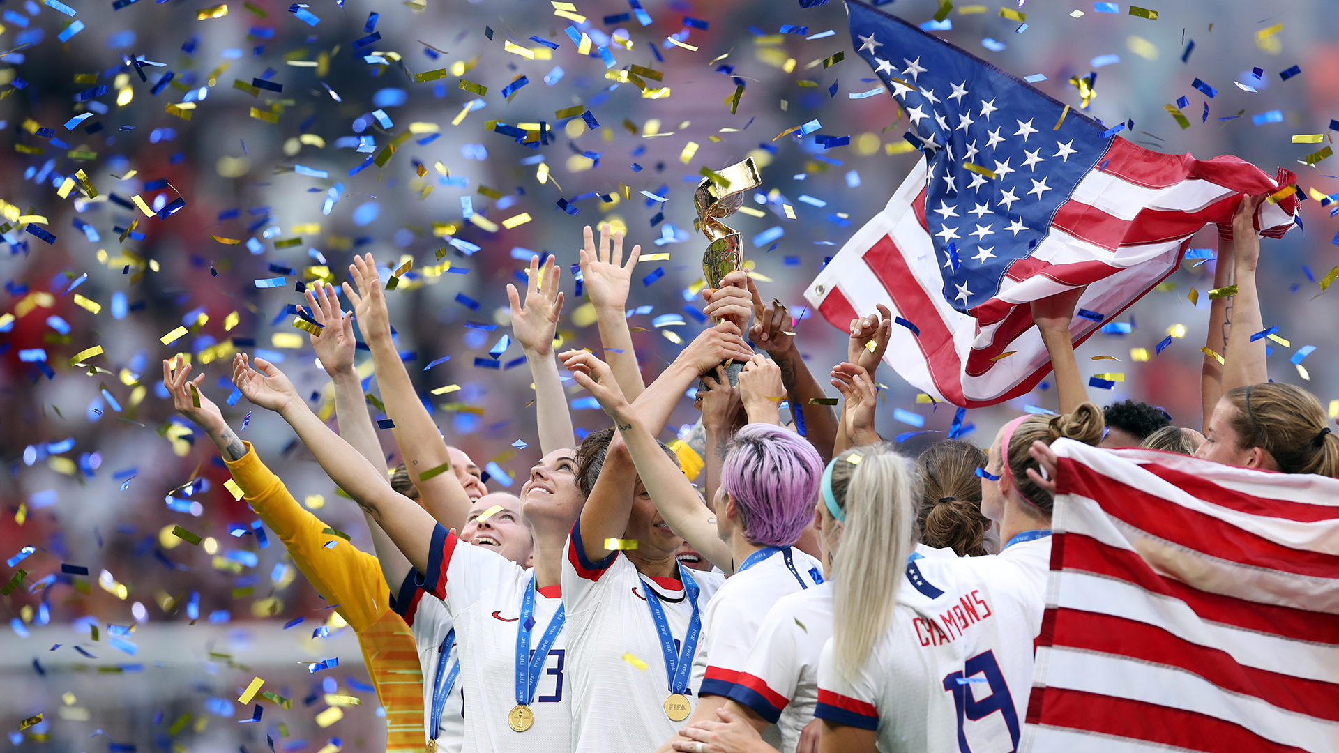 When & where is the USWNT victory parade?