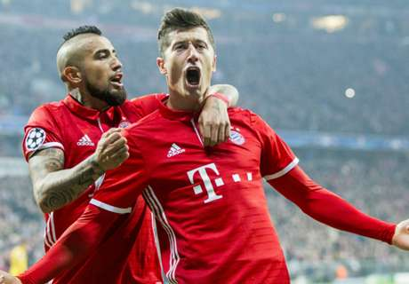 Bayern Munich destroy Hamburg