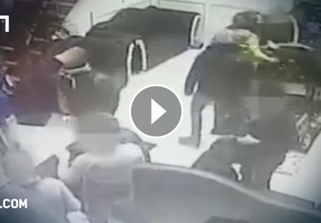 Deutsche Hooligans attackieren Restaurantbesucher
