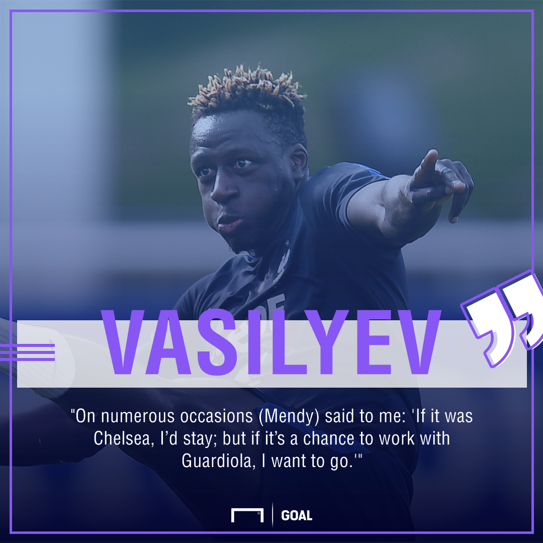Monaco vice-president Vasilyev: Mendy desperate to work with Man City boss Guardiola