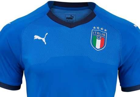 Italija predstavila novu garnituru dresova