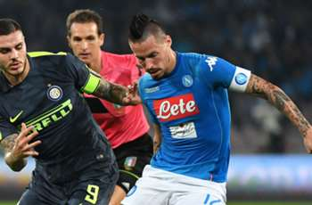 Napoli and Inter share spoils
