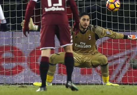 AC Milan knokt zich naast Torino