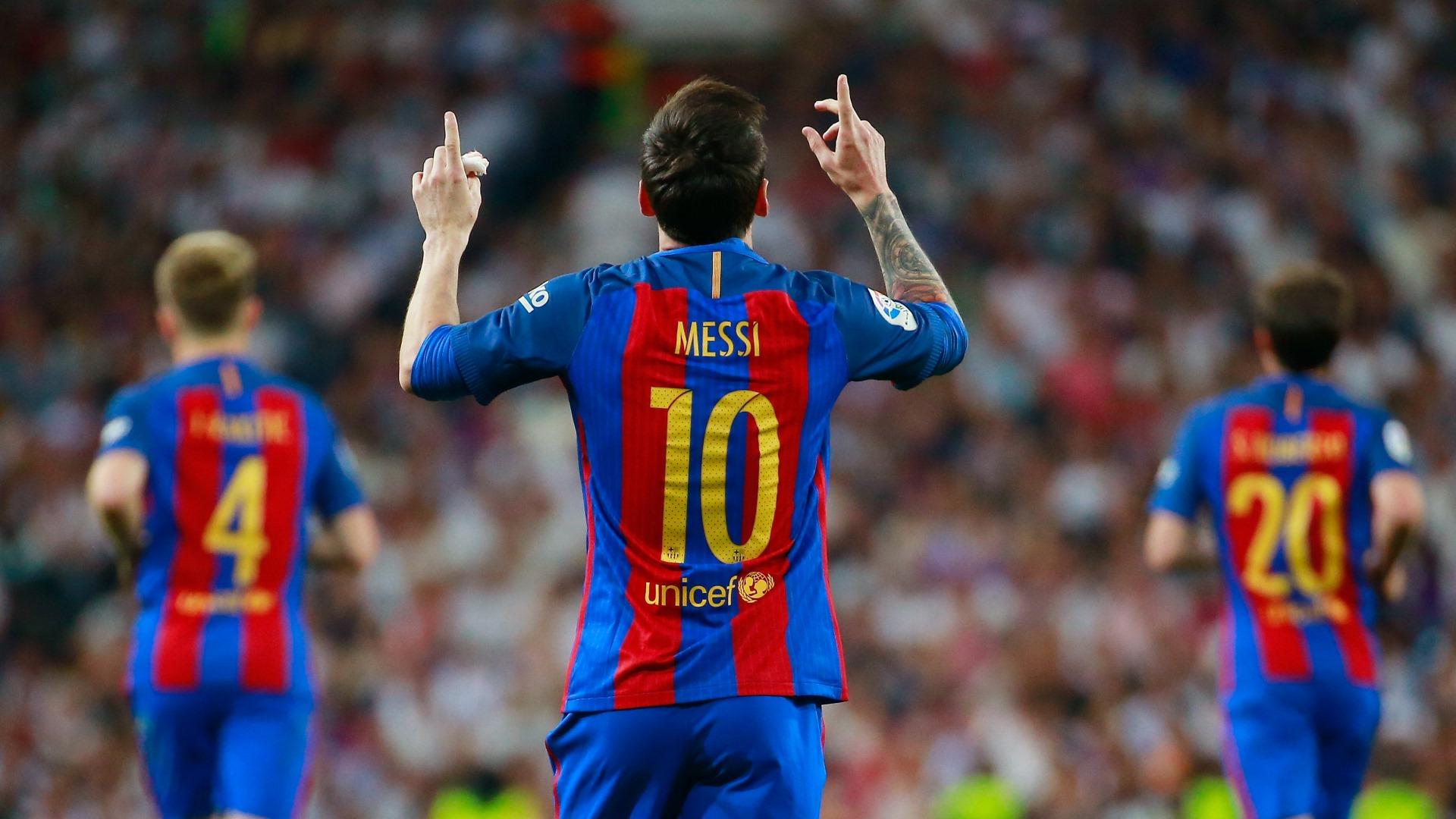 Lionel Messi Real Madrid Barcelona LaLiga 23042017 - Goal.com