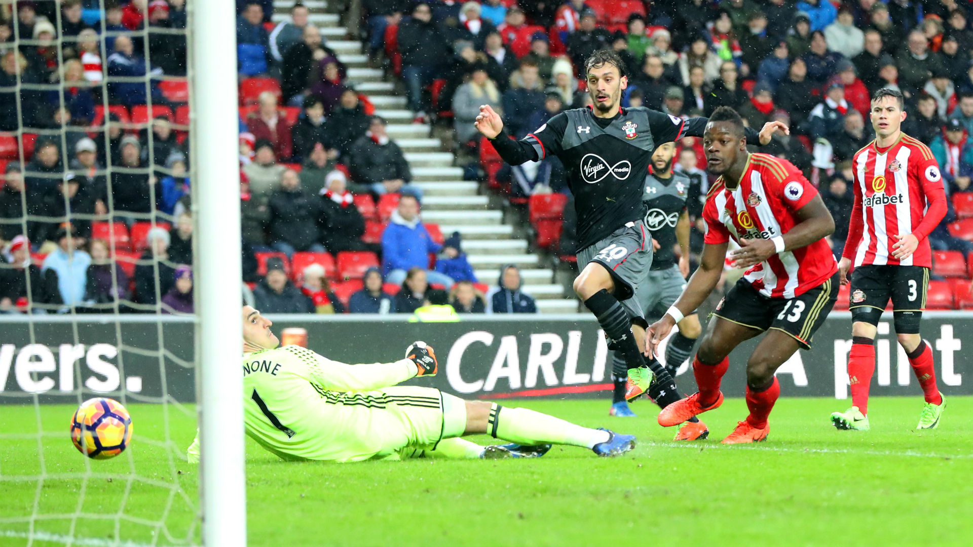 Gabbiadini Sunderland Southampton