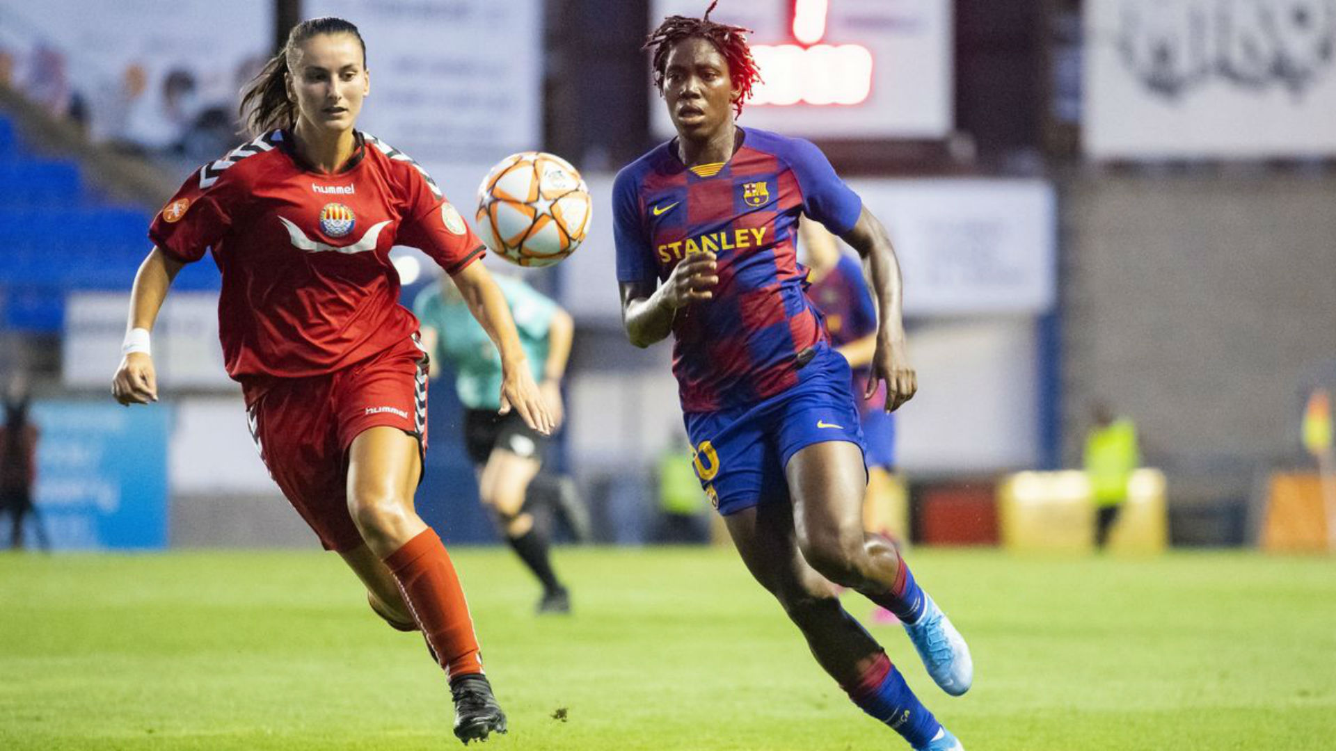 'It is tough to find any player like Oshoala' - Barcelona coach Cortes