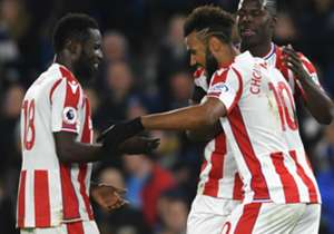 The Africans were on from start to finish as the Potters secured a hard-earned draw against the Seagulls at the American Express Community Stadium