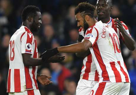 Choupo-Moting & Diouf help Stoke earn draw at Brighton