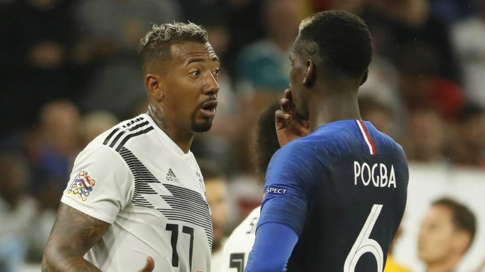 Jerome Boateng Paul Pogba Germany France 2018