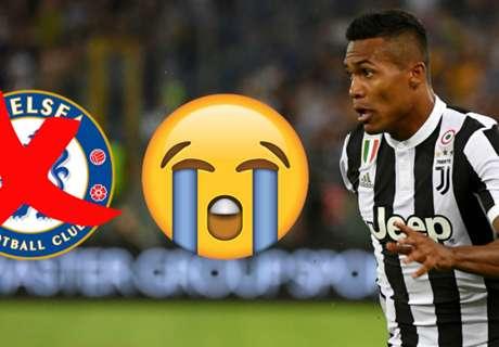 Alex Sandro sulking over failed €70m Chelsea transfer?