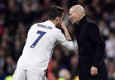 CR7 und Zidane: Zoff vor dem Derby?