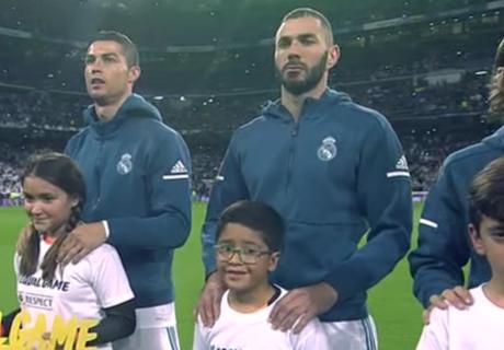 Cristiano Ronaldo cantó el himno de la Champions
