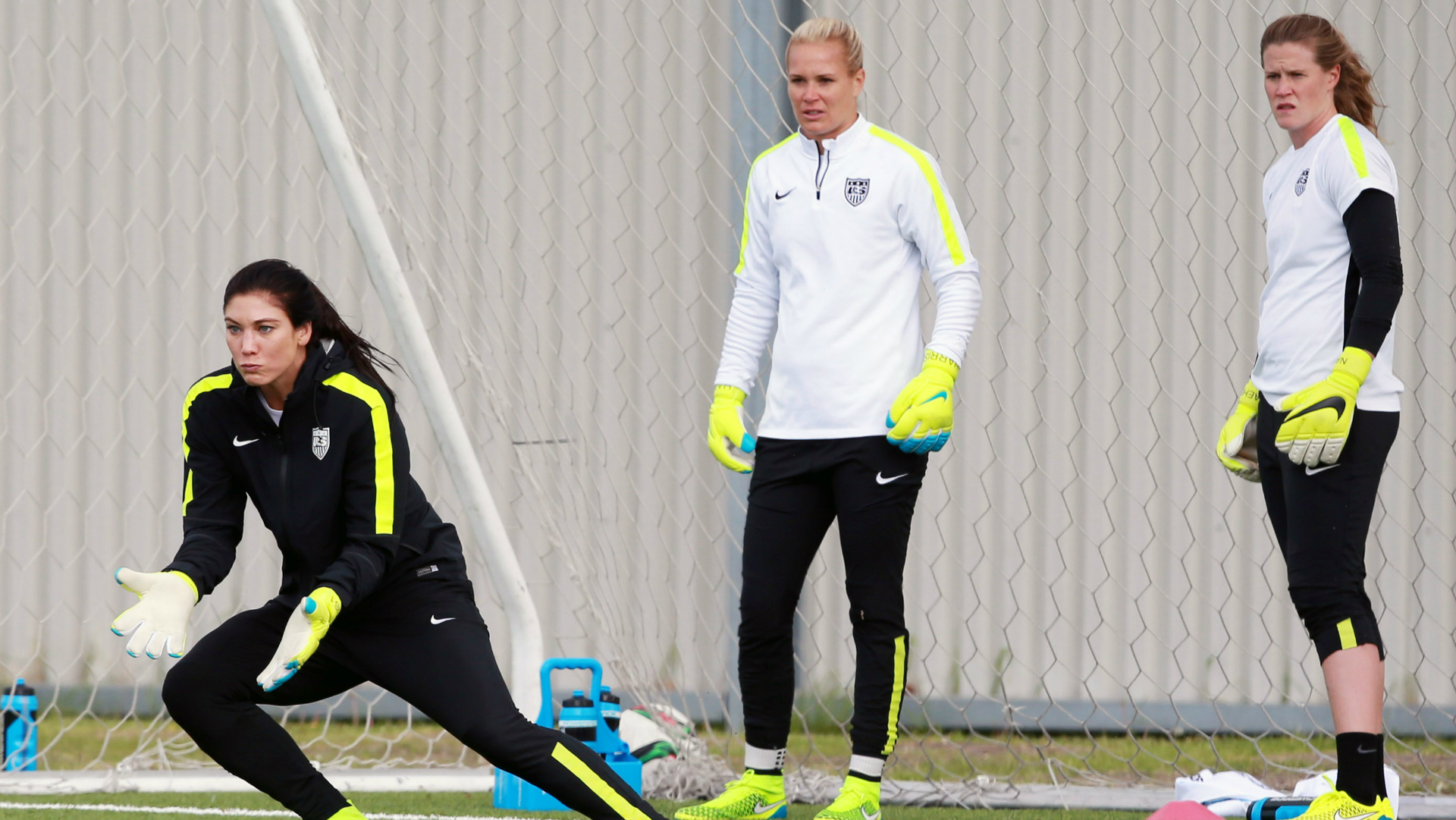 Hope Solo Ashlyn Harris Alyssa Naeher USWNT