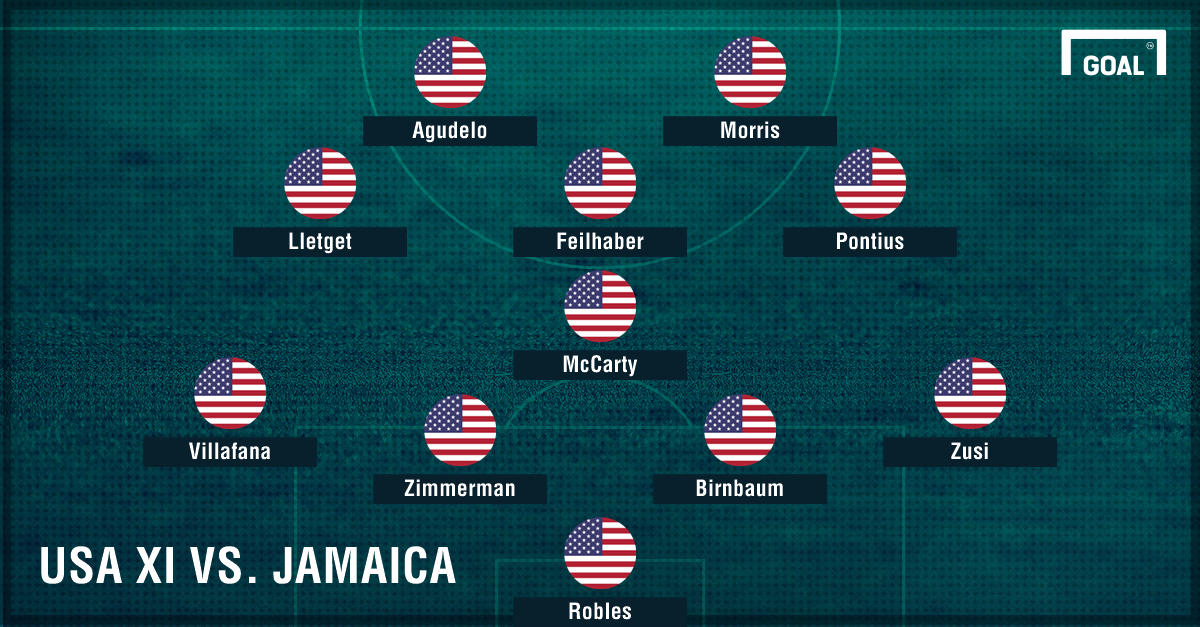 USA XI vs. Jamaica GFX