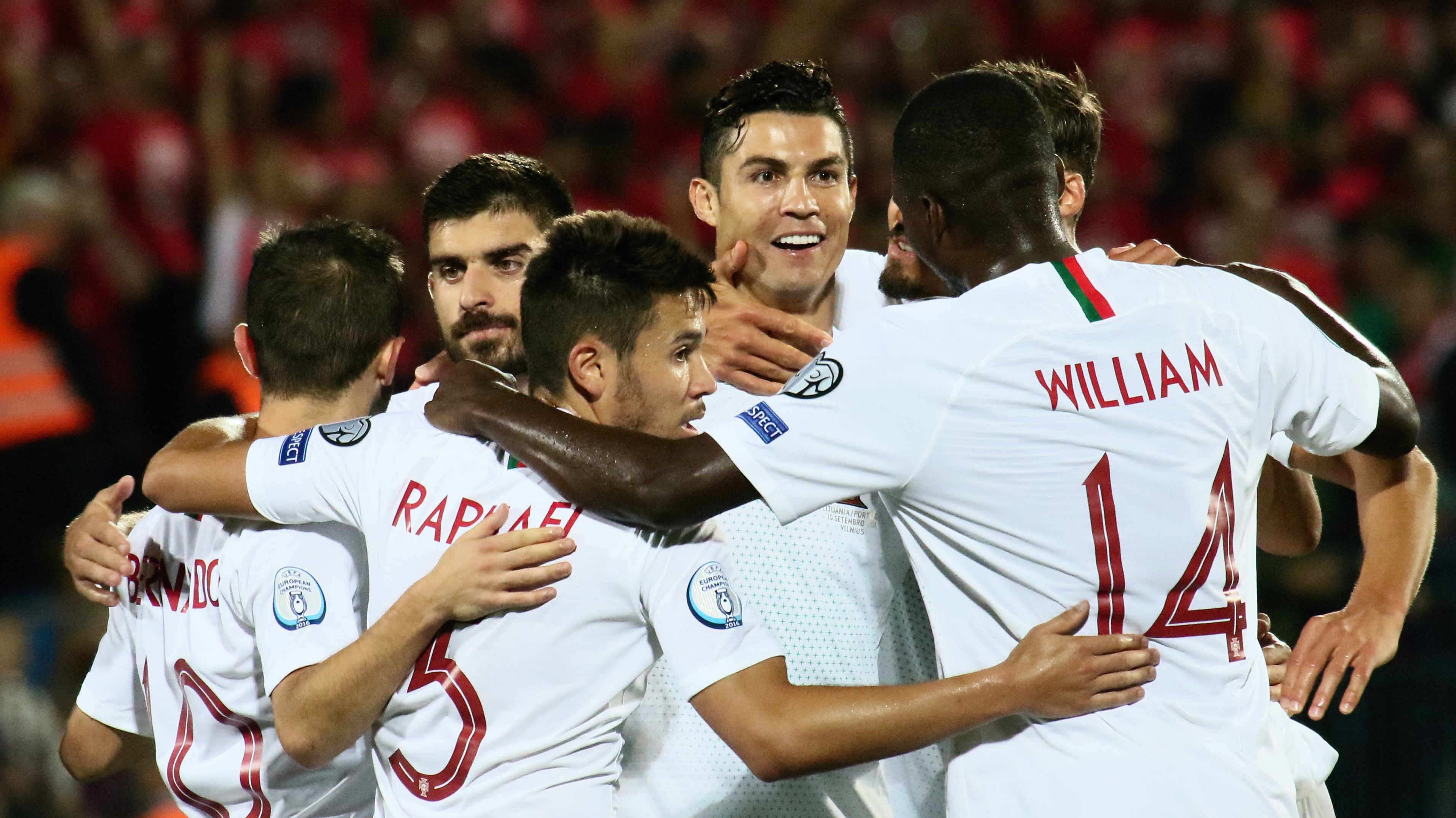 'I'm enjoying this moment' - Ronaldo breaks Euro qualifying goal record in Portugal win