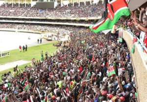 So Kenyans can fill Kasarani: The government waived the entrance fee giving local fans an opportunity to come and cheer their team. It worked magic! The 60, 000 sitter stadium was filled to capacity with other thousands being locked out. It was a messa...
