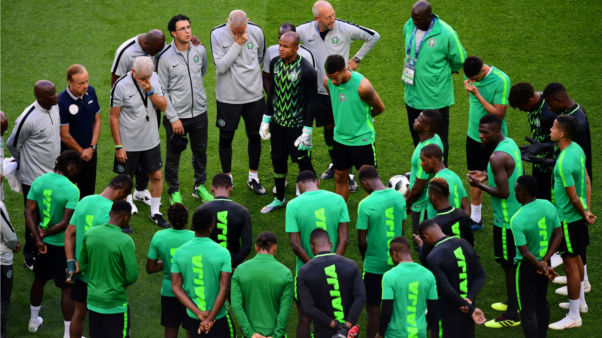 Nigeria camp sizzles with the arrival of Musa, Iwobi and Ndidi