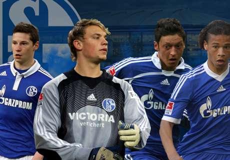 Die Top-11 der Schalker Eigengewächse