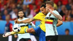 Sweden - Belgium, Euro 2016, Zlatan Ibrahimovic, Toby Alderweireld