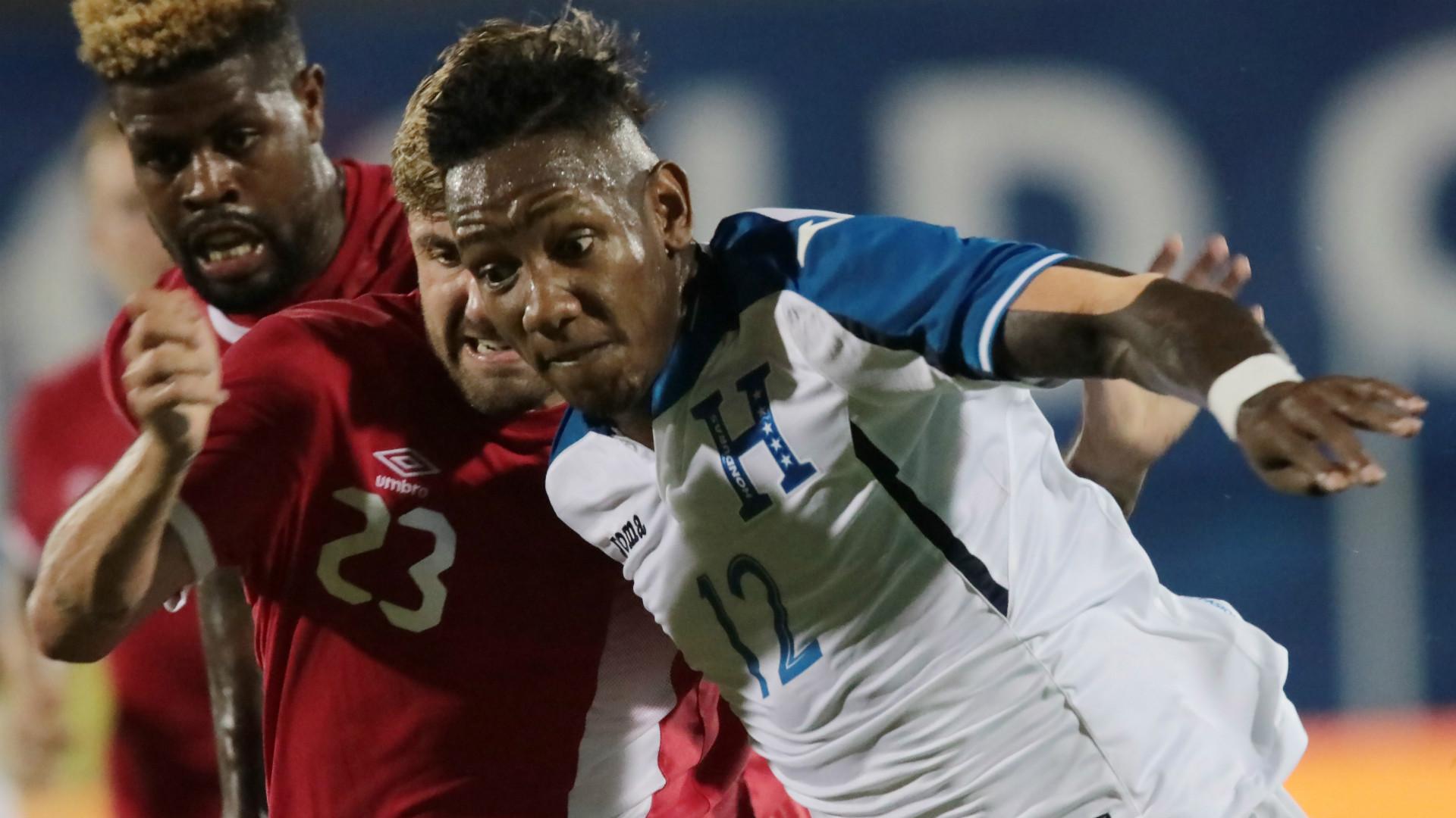 Romell Quioto Honduras Gold Cup
