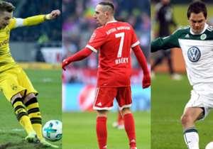 Goal präsentiert Euch in Zusammenarbeit mit Opta die 50 Assistgeber der Bundesliga, die seit der Saison 2008/2009 am öftesten eine Vorlage geliefert haben.
