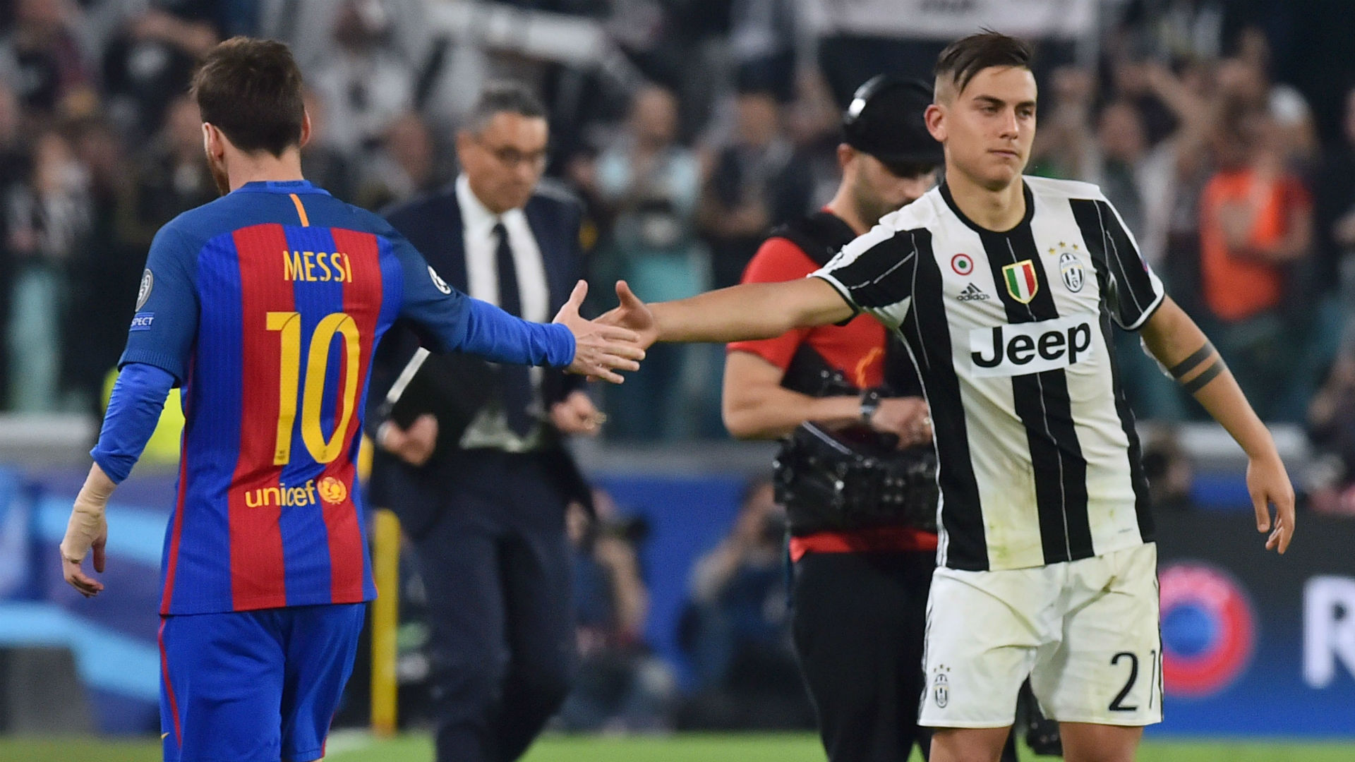 Lionel Messi Barcelona Paulo Dybala Juventus