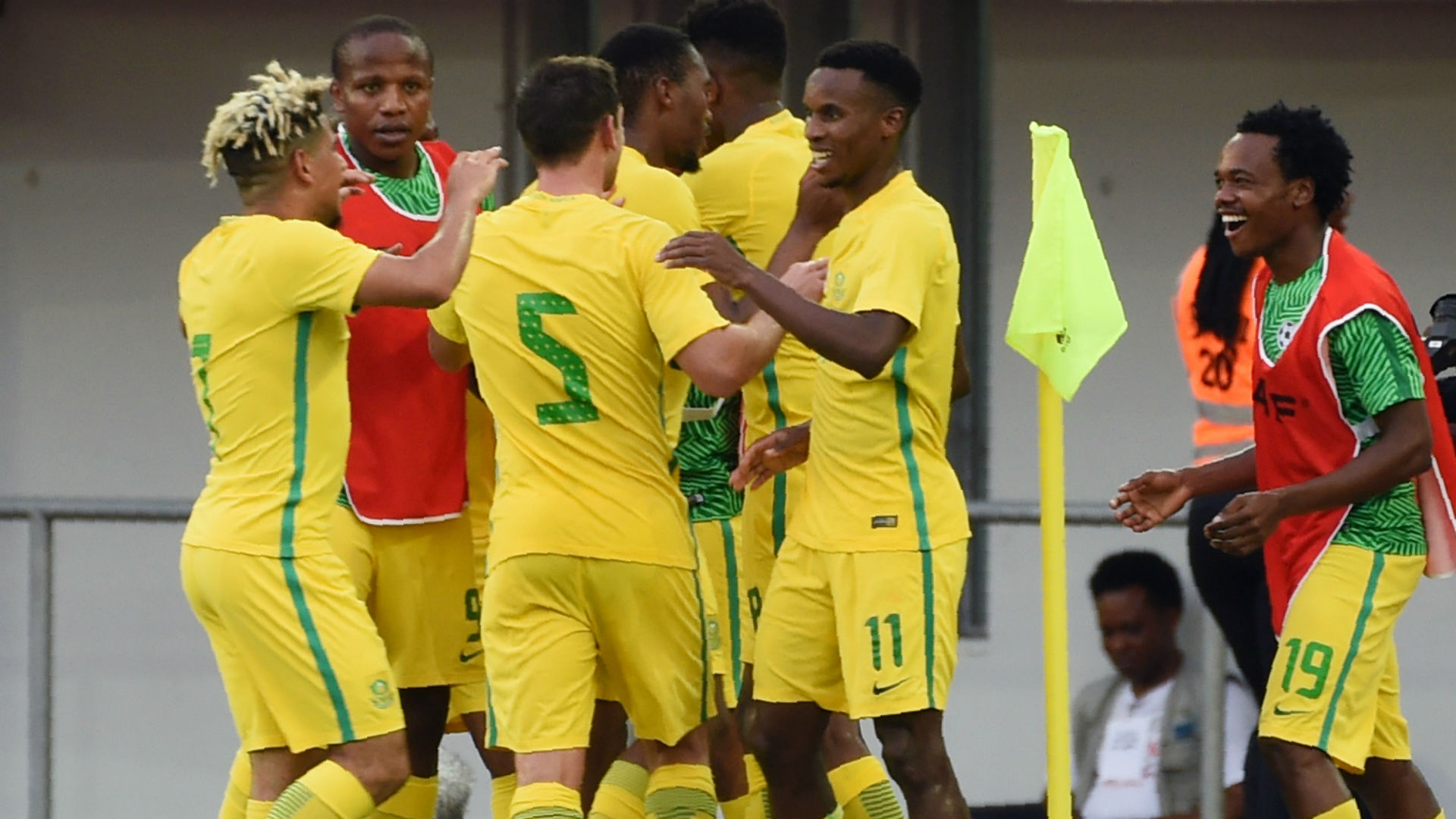 Afcon 2019: Eagles fall 0-2 to Bafana