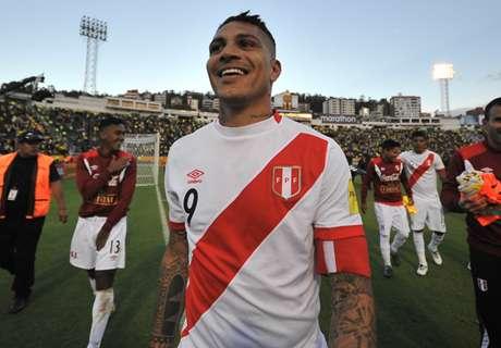 Perù, la FIFA grazia Guerrero: squalifica ridotta