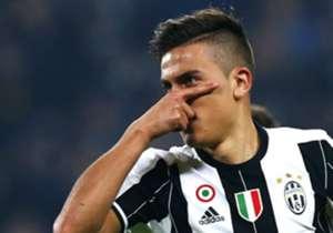 12) Juventus 3-1 Napoli | Coppa Italia | 28/02/2017 | Higuaín ya había puesto el 2-1 y otra vez la Joya se hizo cargo de ampliar la ventaja desde los doce pasos tras la infracción a Guardado.