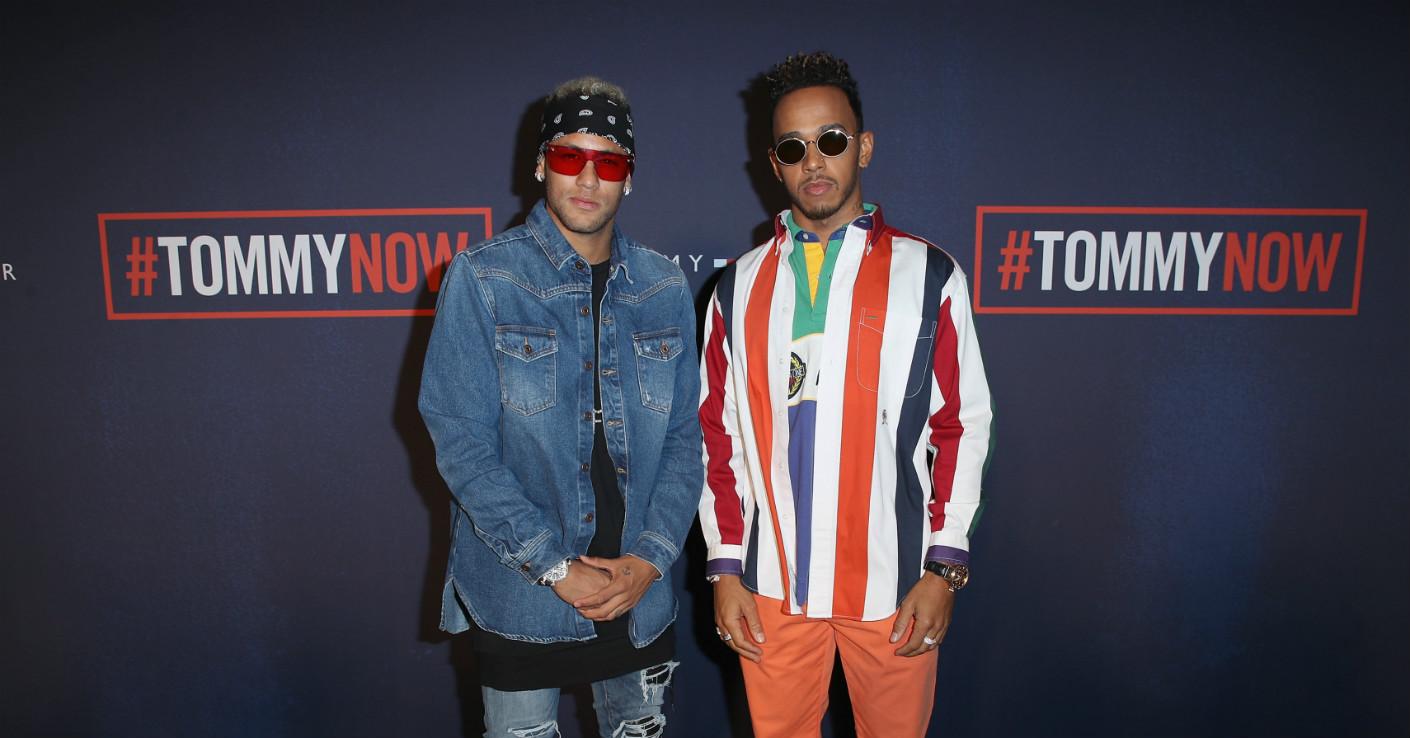 Neymar Lewis Hamilton
