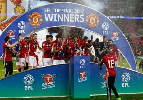 WATCH: Man Utd's victory celebrations