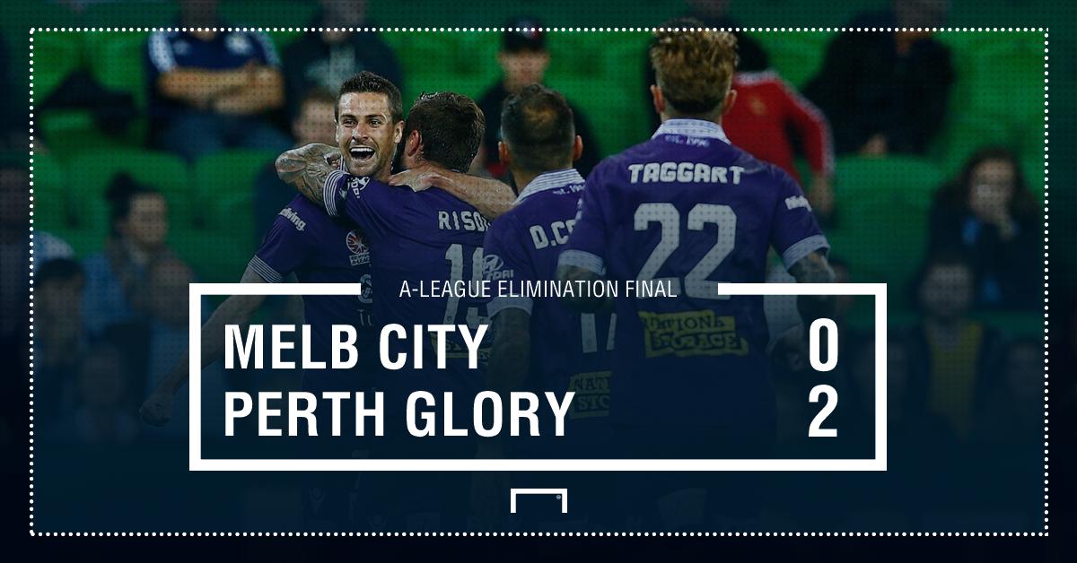 GFX Melbourne City 0-2 Perth Glory