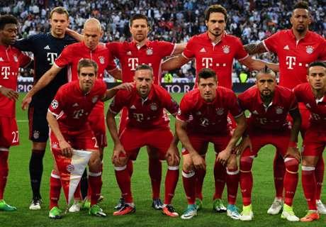 Los números de Bayern Munich campeón