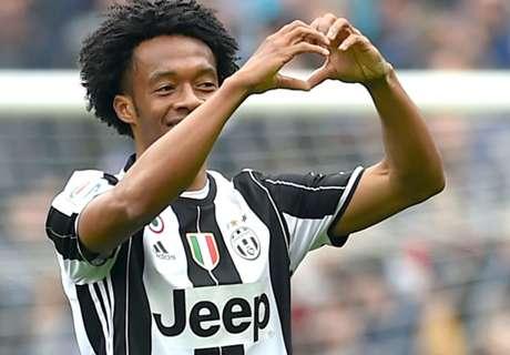 Cuadrado, el mejor de la Juventus