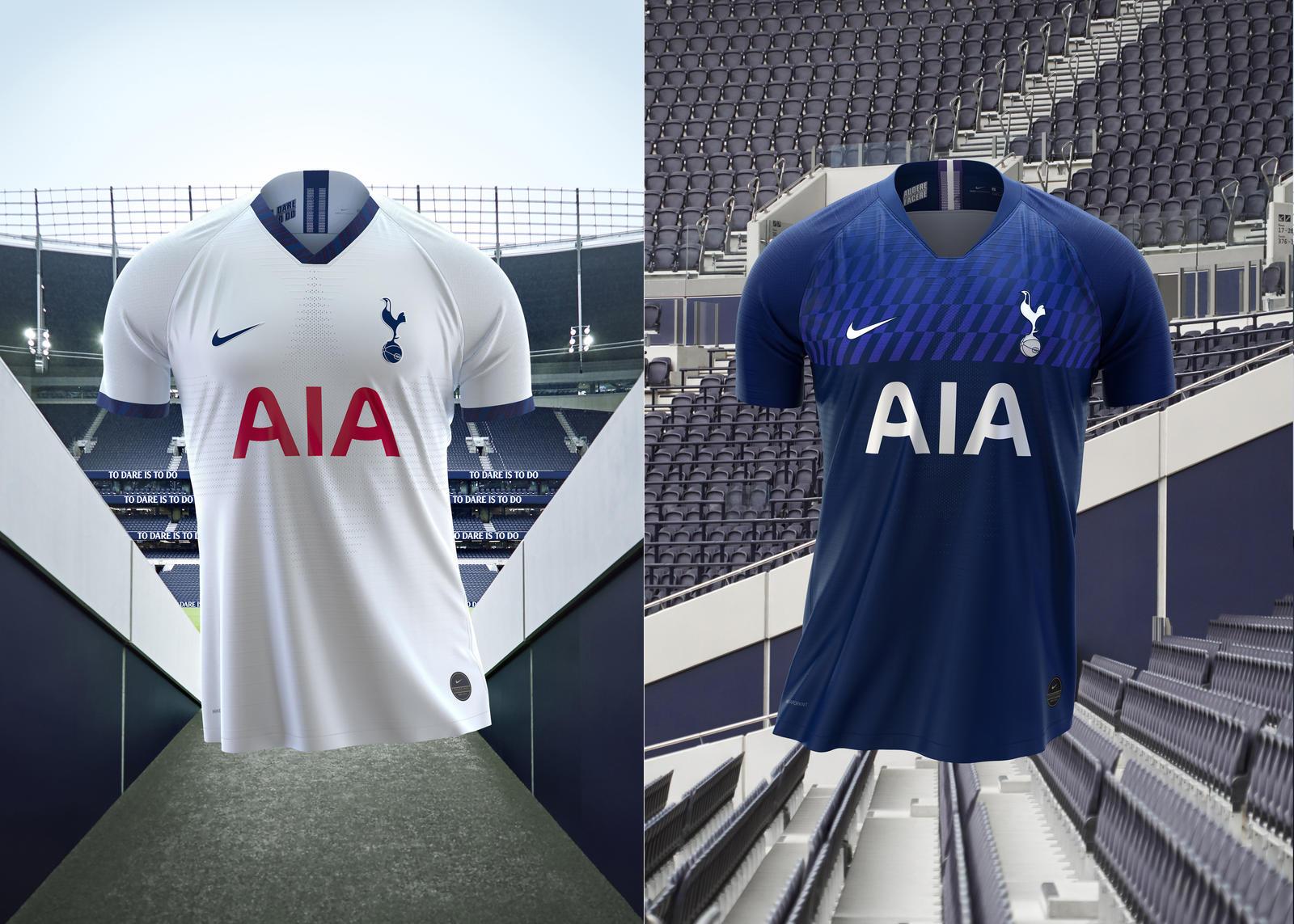 Premier League - Tottenham dévoile ses nouveaux maillots pour la saison 2019-2020
