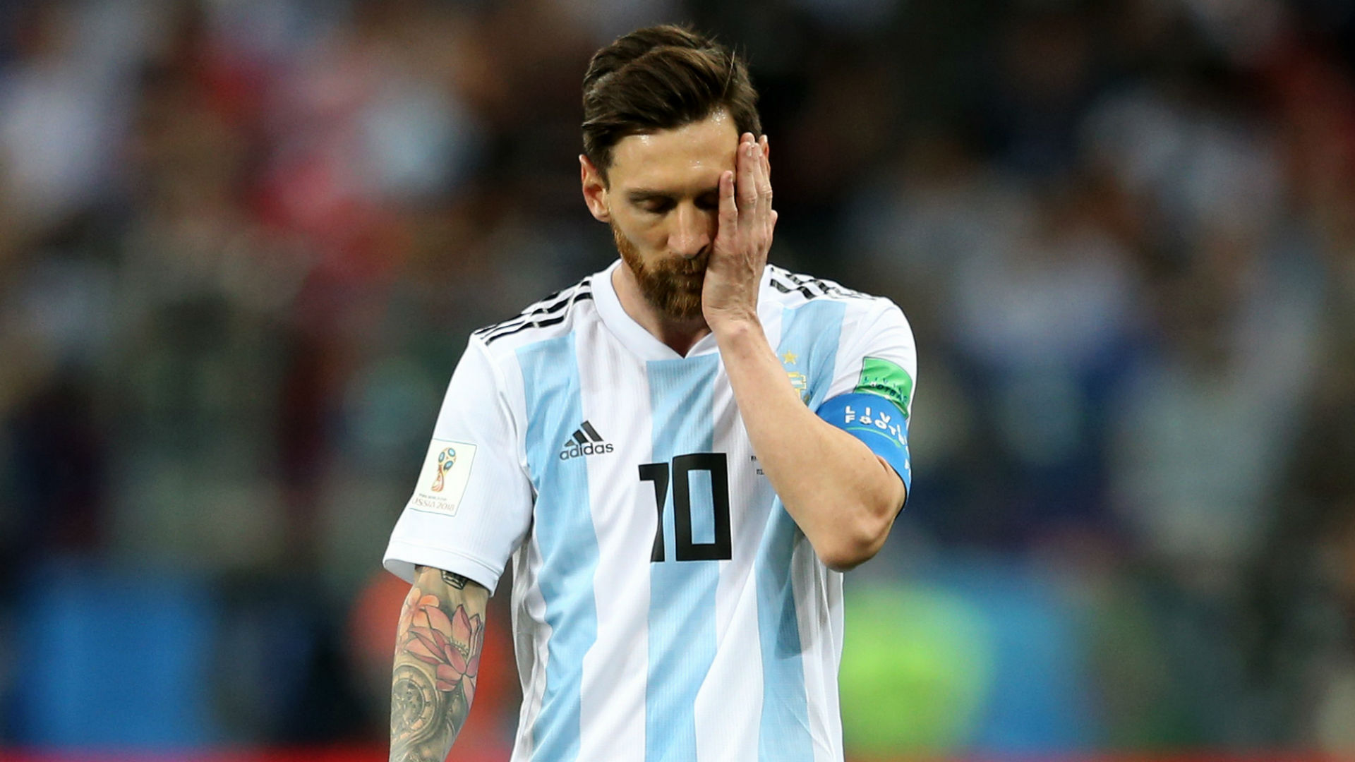 Watch Lionel Messi Announces Shock Retirement After Loss To Chile video