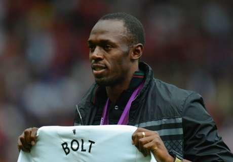 How Usain Bolt aims to conquer Man Utd