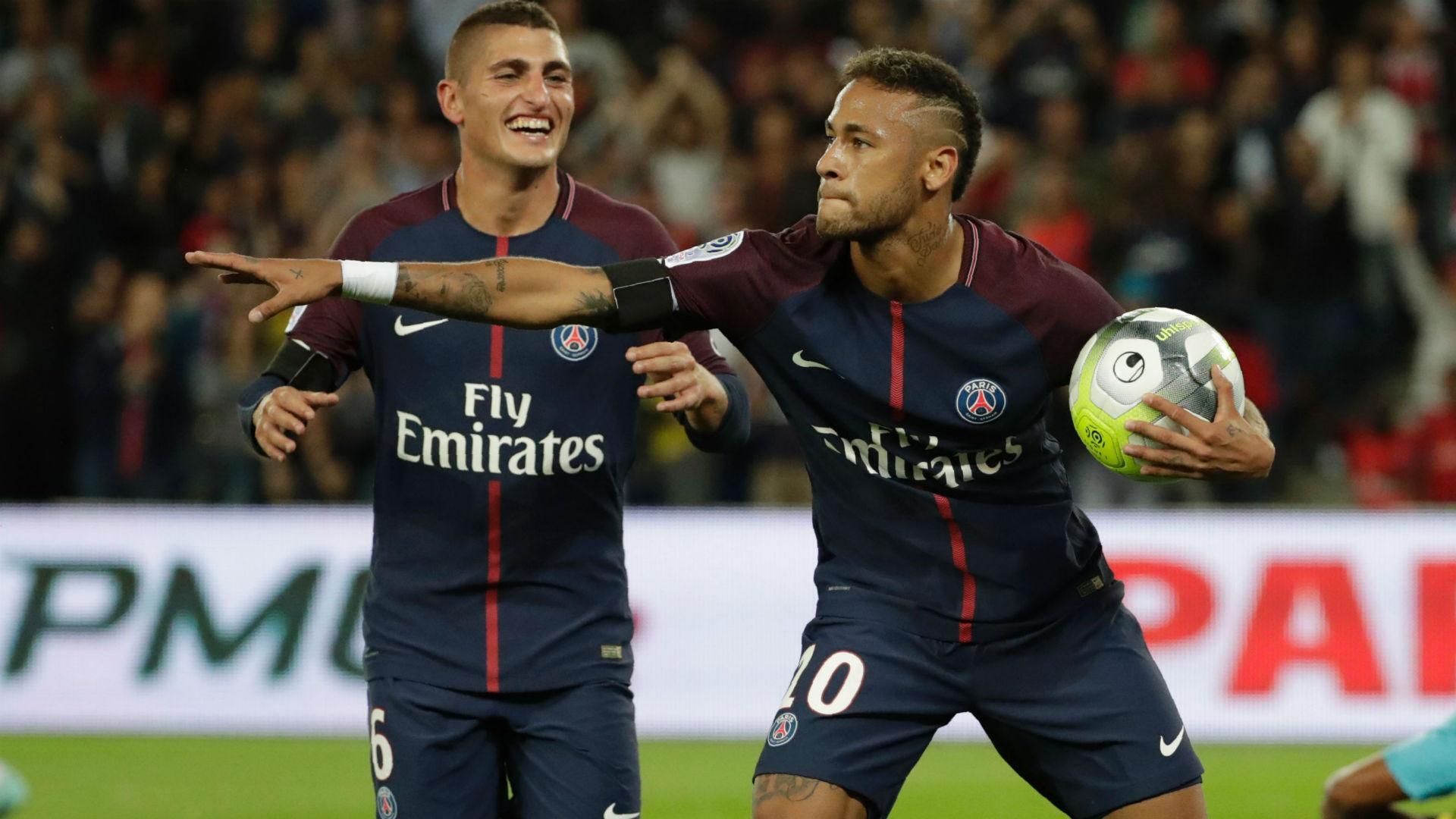 Ligue 1: doppietta di Neymar, il Psg travolge il Tolosa 6-2