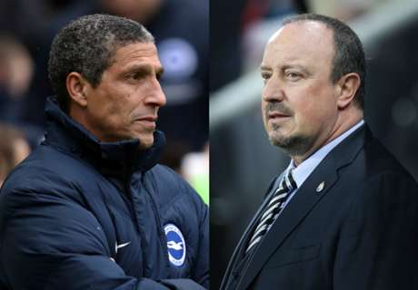 STATS: Brighton & Newcastle's race to PL