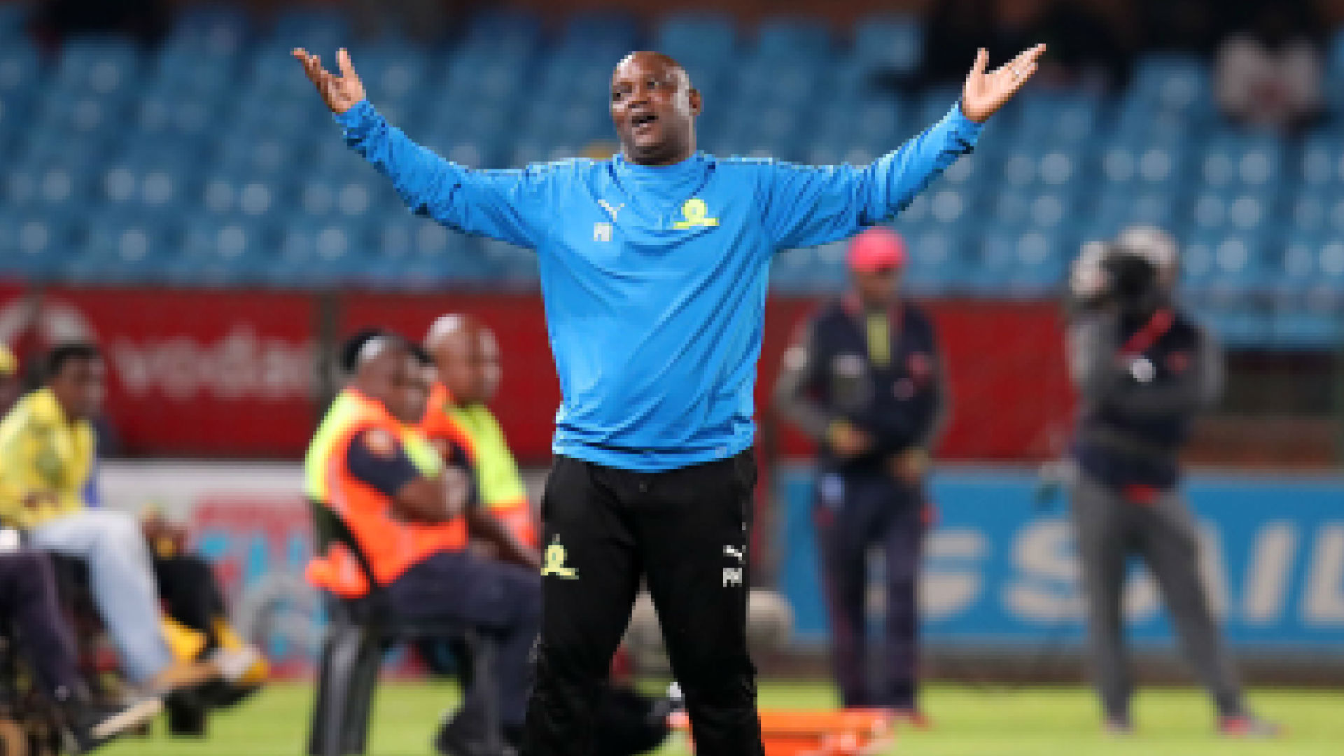 Mamelodi Sundowns coach Mosimane praises Tembo and hopes SuperSport United wins MTN8