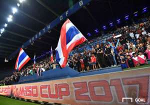 ทีมชาติไทย U-23 เปิดตัวในศึก M-150 คัพ ได้อย่างประทับใจแฟนบอล โกล เก็บภาพบรรยากาศมาฝากกันจากบุรีรัมย์