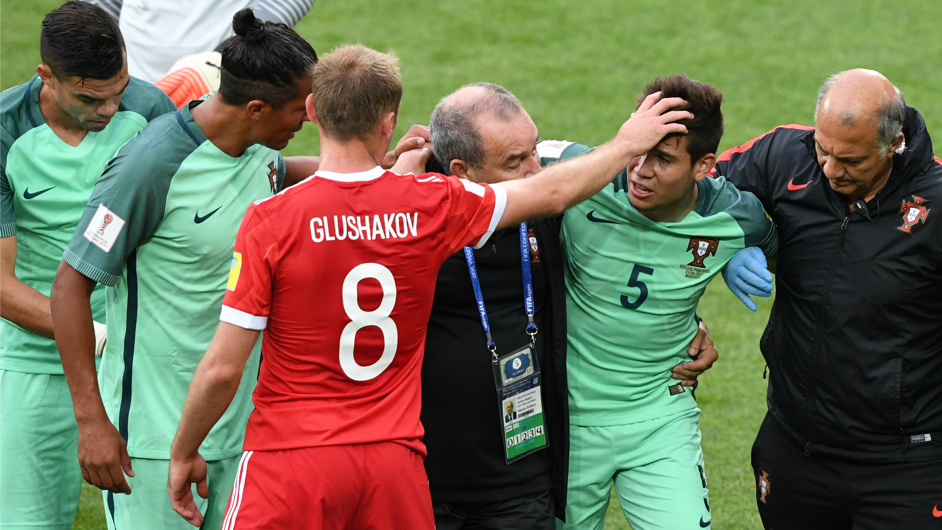 Guerreiro confirms fracture, ruled out of Confederations Cup remainder